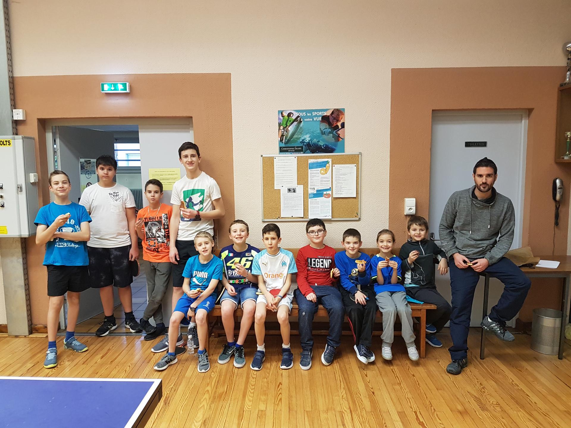 Galette des rois avec les jeunes : 9 janvier 2019