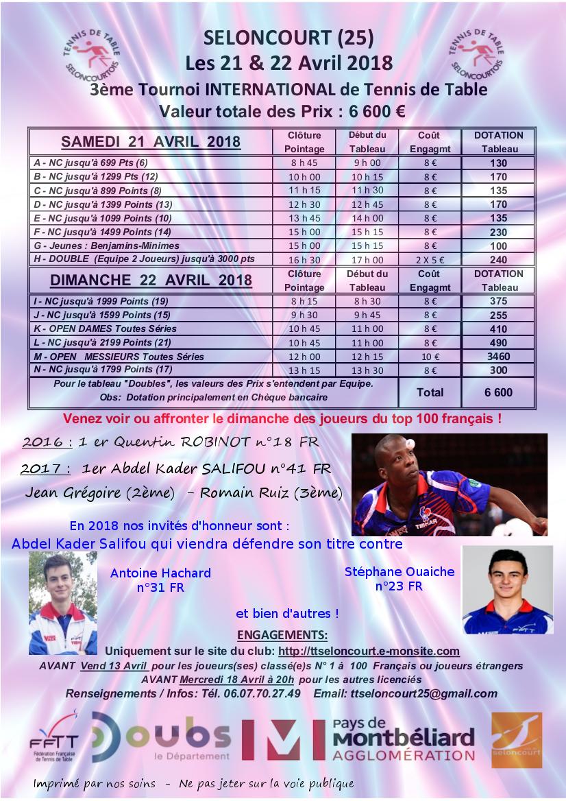 Affiche du tournoi1 2
